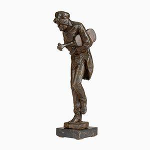 Estatua antigua de bronce de Giovan Battista Amendola