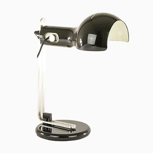 Black Flash Table lamp by Joe Colombo for O-Luce, 1970s