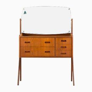 Danish Dressing Table from AG Spejl Kobberbeskyttet, 1960s