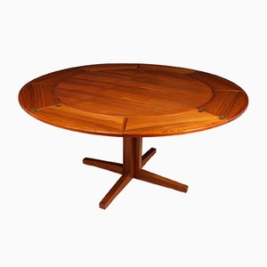 Teak Flip Flap Table from Dyrlund, 1960s