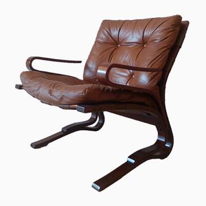 Pirate Lounge Chair by Elsa Solheim & Nordahl Solheim for Rybo Rykken & Co., 1973