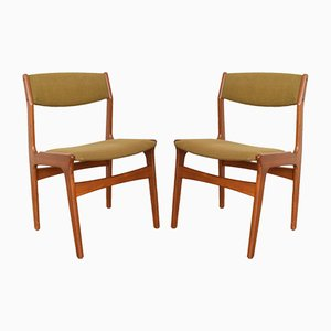 Mid-Century Danish Teak Chairs from Nova, 1960s, Set of 2