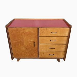 Mueble con patas compás, años 50
