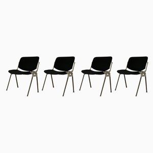 DSC 106 Chairs by Giancarlo Piretti for Castelli, 1990s, Set of 4