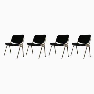 DSC 106 Stühle von Giancarlo Piretti für Castelli, 1990er, 4er Set