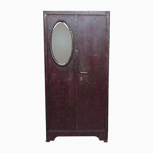 Antiker Schrank mit Safe