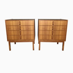Vintage Drawers by Bertil Fridhagen, Set of 2
