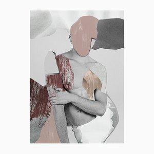 Serigrafía Melted Souls de Stefan Gunnesch
