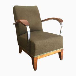 Art Deco Lounge Chair, 1940s