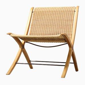 X-Chair FH 6135 von Peter Hvidt & Orla Mølgaard Nielsen für Fritz Hansen, 1968