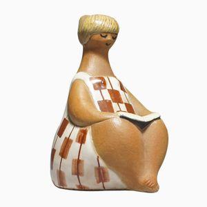 Figurina Charlotta di Lisa Larson per Gustavsberg