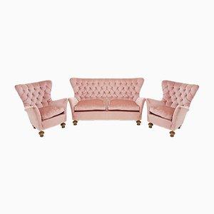 Vintage Sofa & 2 Sessel, 1960er