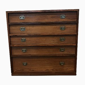 Vintage Rosewood Chest of Drawers by Henning Koch for Silkeborg Møbelfabrik