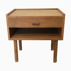 Vintage Nachttisch aus Eiche von Hans J. Wegner für Ry Møbler