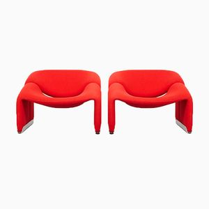 Model F598 M-Chairs by Pierre Paulin for Artifort, 1972, Set of 2