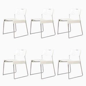 Omstak Chairs by Rodney Kinsman for Bieffeplast, 1971, Set of 6