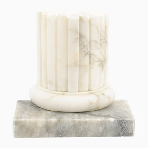 Vintage Marble Bookend, 1980s