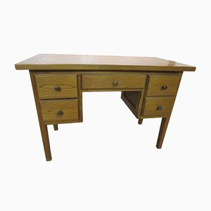 Schreibtisch aus Eiche, 1970er