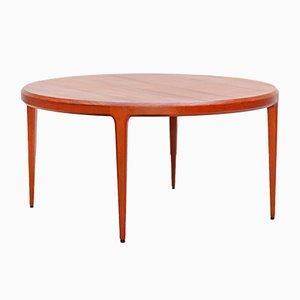 Tavolino da caffè moderno in teak di Severin Hansen per Haslev Mobelsnedkeri, anni '60