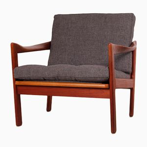 Teak Easy Chair by Illum Wikkelsø for Niels Eilersen, 1960s