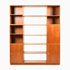 Diplomat-Series Teak Shelving Unit by Finn Juhl for France & Søn, 1960s