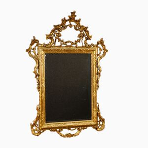 Gilded Wood Mirror, 1950s