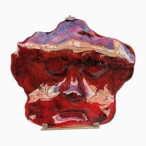 Fisiognomica Opera Glass Sculpture by Dino Milani, 2000