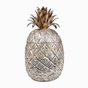 Secchiello per il ghiaccio a forma di ananas di Mauro Manetti, anni '60