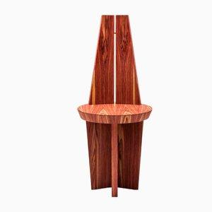 Povera Stuhl aus Palisander & Kupfer von Antonio Aricò für Editamateria