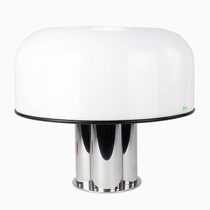 Large Mushroom Table Lamp from Harveiluce iGuzzini, 1960s