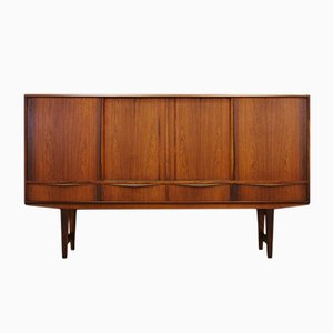 Vintage Danish Rosewood Highboard by E.W Bach