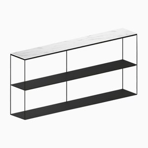 Small SLIM MARBLE Sideboard by Maurizio Peregalli for Zeus