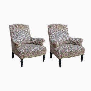 Antiker französischer Sessel, 2er Set