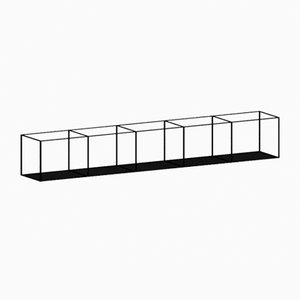 Large Slim Irony Wall Rack by Maurizio Peregalli for Zeus
