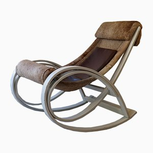 Rocking Chair par Gae Aulenti pour Poltronova, 1962