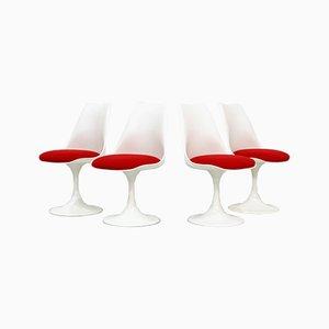 Tulpenförmige Vintage Stühle von Eero Saarinen für Pastoe, 4er Set