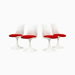 Vintage Tulip Chairs by Eero Saarinen for Pastoe, Set of 4