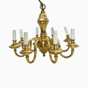 Lámpara de araña de 8 lámparas de Lampart, años 70