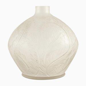 Vintage Feathers Vase by René Lalique