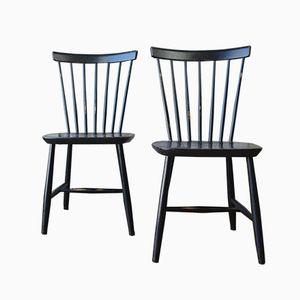 Modell R9 Stühle von Sven Erik Fryklund für Hagafors, 1960er, 2er Set