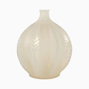 Vintage Opalescent Malines Vase by René Lalique