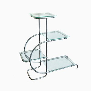 Functionalist Plant Stand by Emile Guyot for Thonet Mundus, 1930s