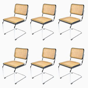 Cesca S32 Chairs by Marcel Breuer for Thonet, 1928, Set of 6