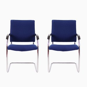 Vintage S73 Chairs by Josef Garcia for Thonet, Set of 2