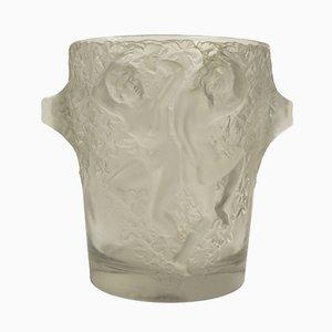 Secchiello per il ghiaccio Ganimede vintage di René Lalique, anni '30