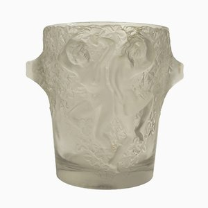 Vintage Ganymede Ice Bucket by René Lalique, 1930s