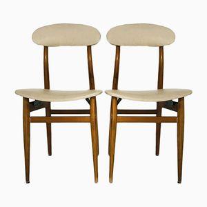 Vintage Scandinavian Dining Chairs, Set of 4