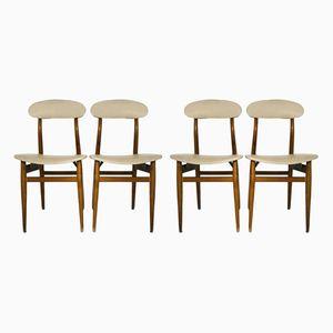 Chaises de Salle à Manger Vintage, Scandinavie, Set de 4