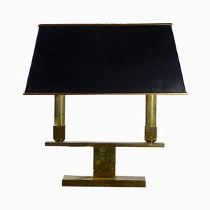 Lampe de Bureau Vintage en Bronze, France
