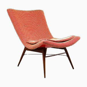 Vintage TV Armchair by Miroslav Navratil for Vertex